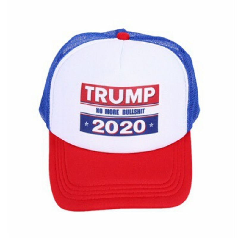 USPatriotgear.com | No More Bullsh*t Trump Hat front