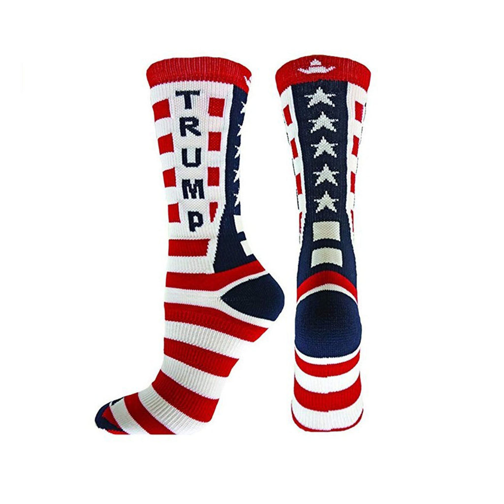 Trump Socks Red White and Blue