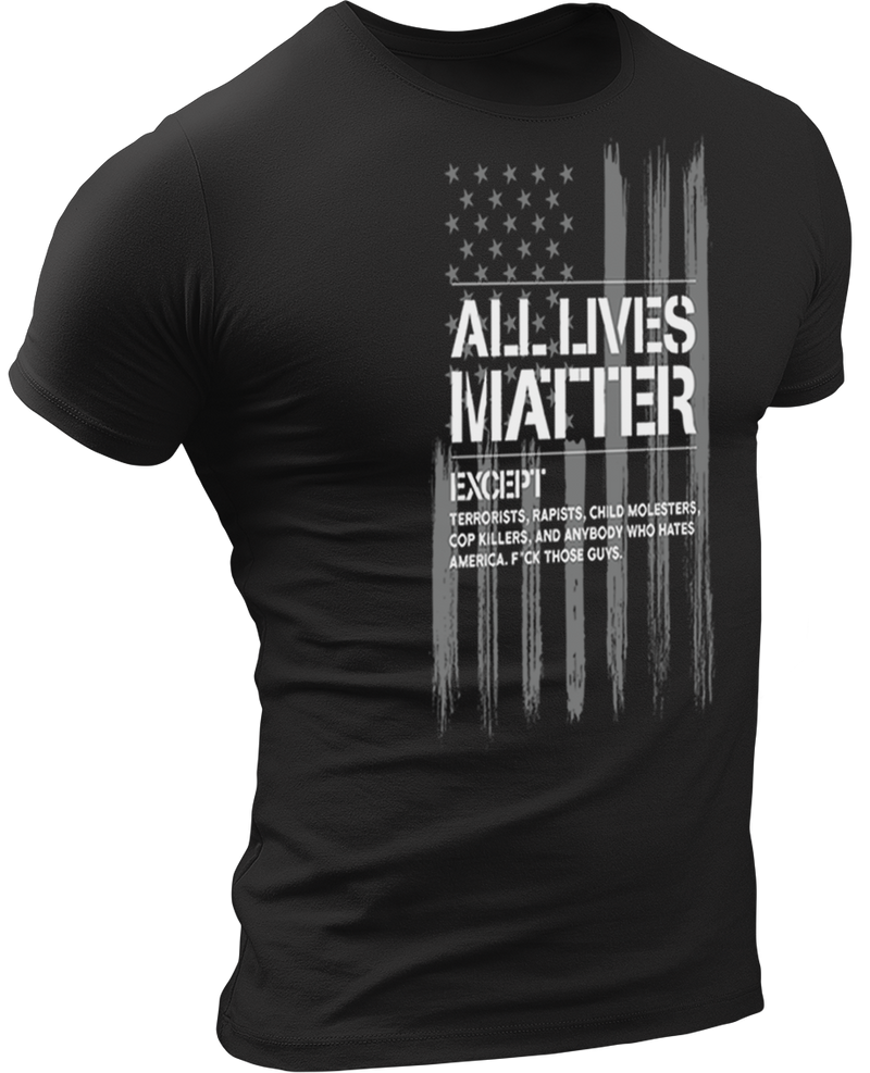 USPatriotgear.com | All Lives Matter T-Shirt