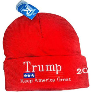 USPatriotgear.com | Trump 2020 Red Beanie