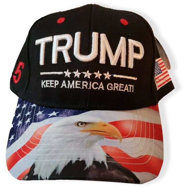 Keep America Great Trump Hat (Black)