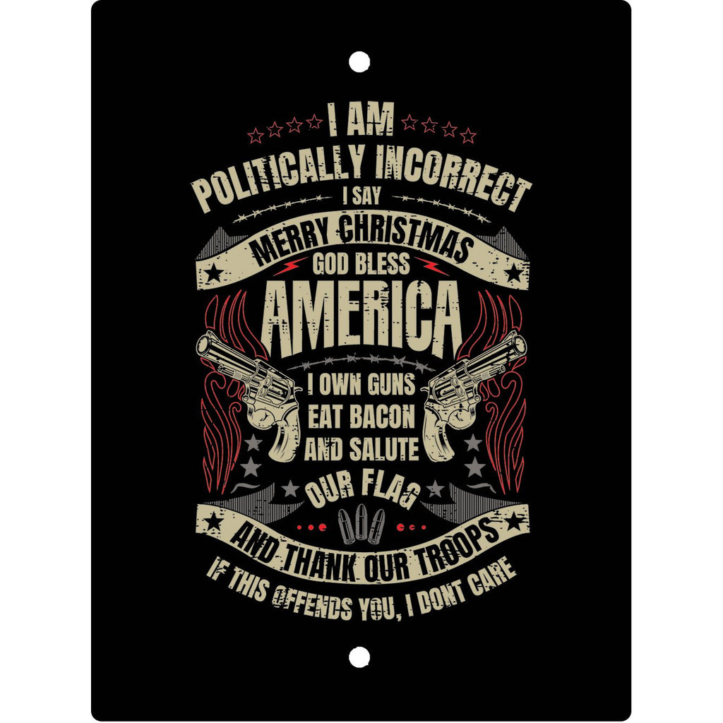 USPatriotgear.com | Politically Incorrect Christmas Sign