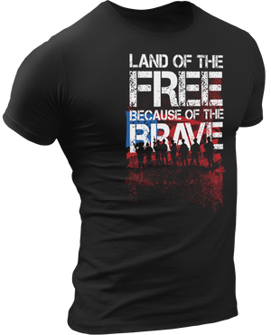 USPatriotgear.com | Land Of The Free T-Shirt