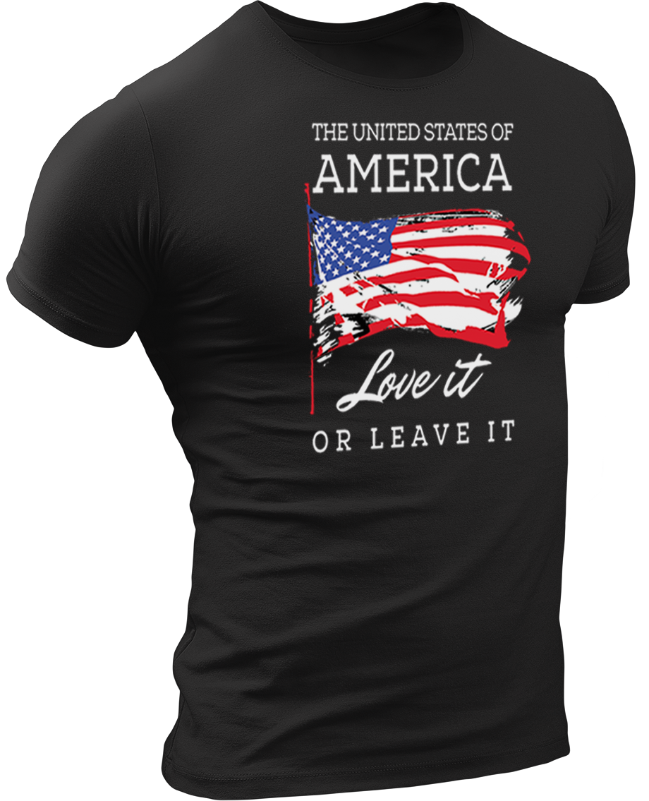 USPatriotgear.com | Love It Or Leave It T-Shirt