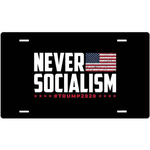 USPatriotgear.com | Never Socialism Sign (4x7)