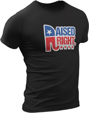 USPatriotgear.com | Raised Right T-Shirt