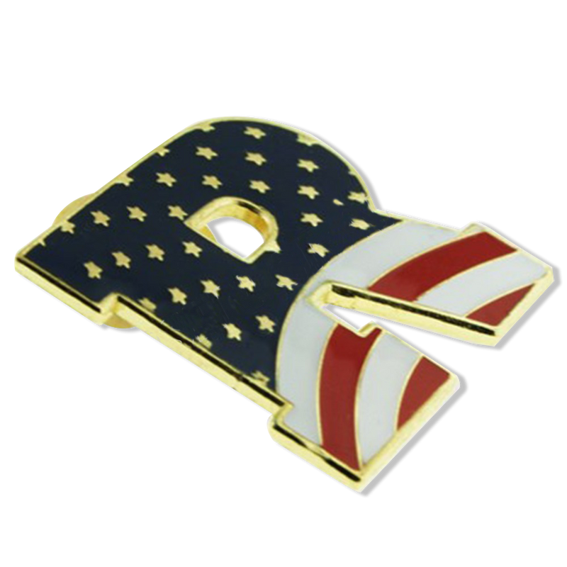 Republican Flag Pin