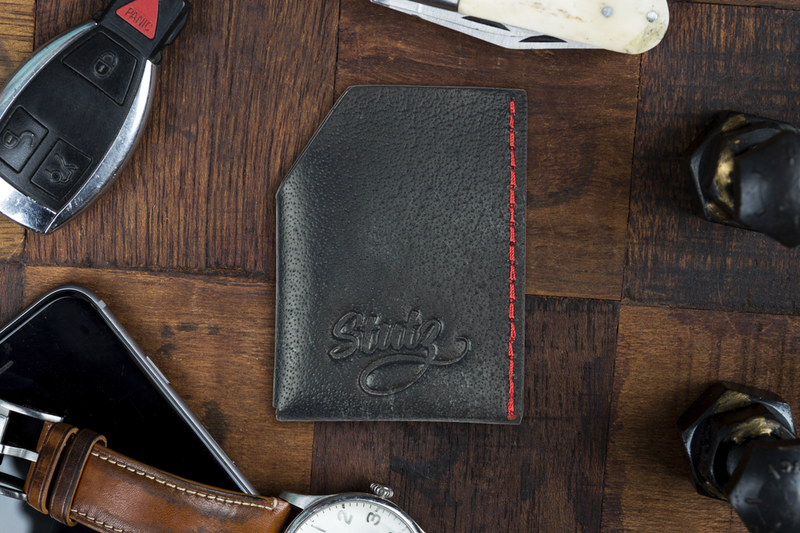 STUTZ WALLET - CLASSIC BLACK-Uncle Judds