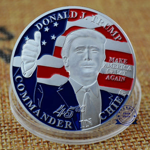 USPatriotgear.com | Trump Thumbs Up Coin