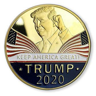 USPatriotgear.com | Trump 2020 Gold Plated Coin