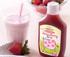 Organic Strawberry Syrup