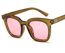 Coloured Lens Wayfarer Sunglasses