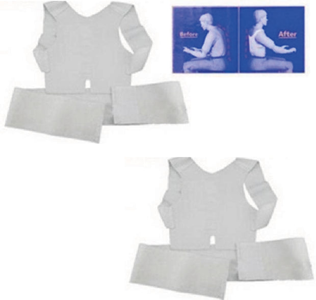 2pcs Back&Shoulder Posture Corrector