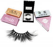 3D Eyelashes with Package