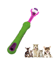 3 Sided Pet Teethbrush