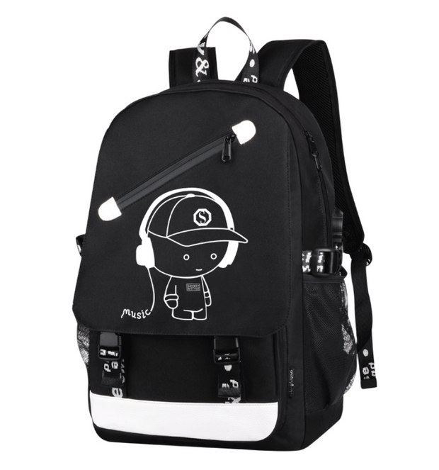 Anti-thief Teenager Backpack