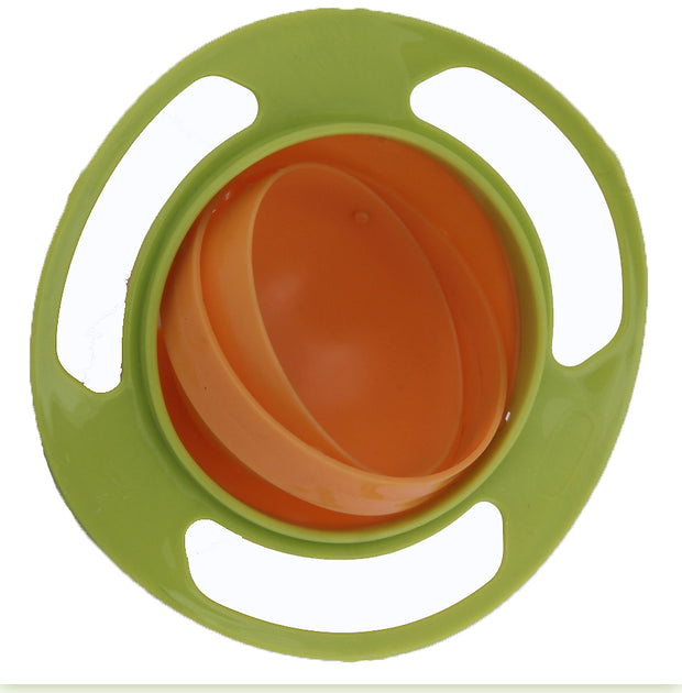 360 Degree Revolving Baby Lunch Tiffin Fun Box for School Kids