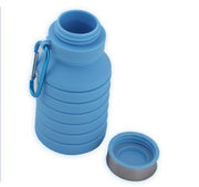 sports silicone foldable water bottle
