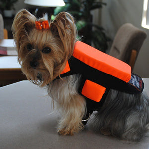 5 Pads w/ Spikes -Hawk and Coyote Deterrent Vest For Dogs- LEVEL 5.0 PROTECTION