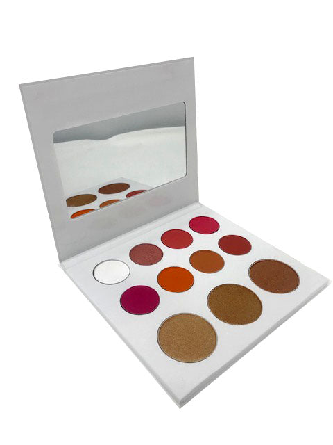 The Blossom Eyeshadow Palette by Miinachi Cosmetics Pigmented 11 Shades of Eyeshadow Matte and Foiled Shimmer