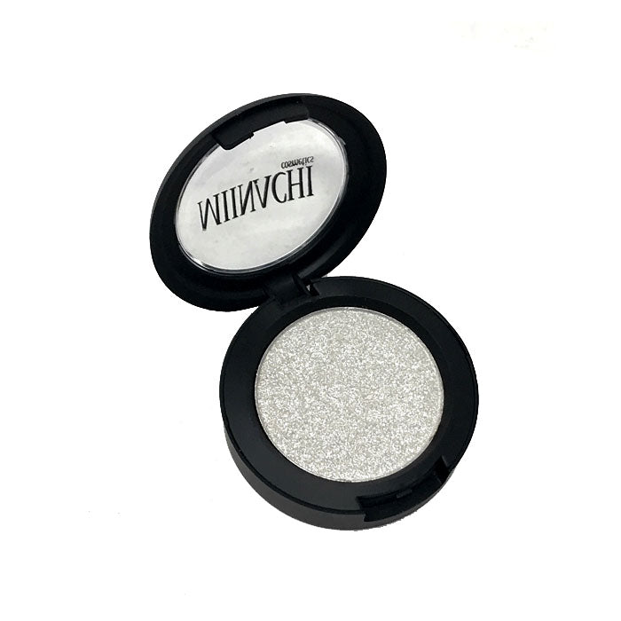 Single Pressed Highlighter In The Shade Crystal Glowing Makeup Cosmetics Shimmer