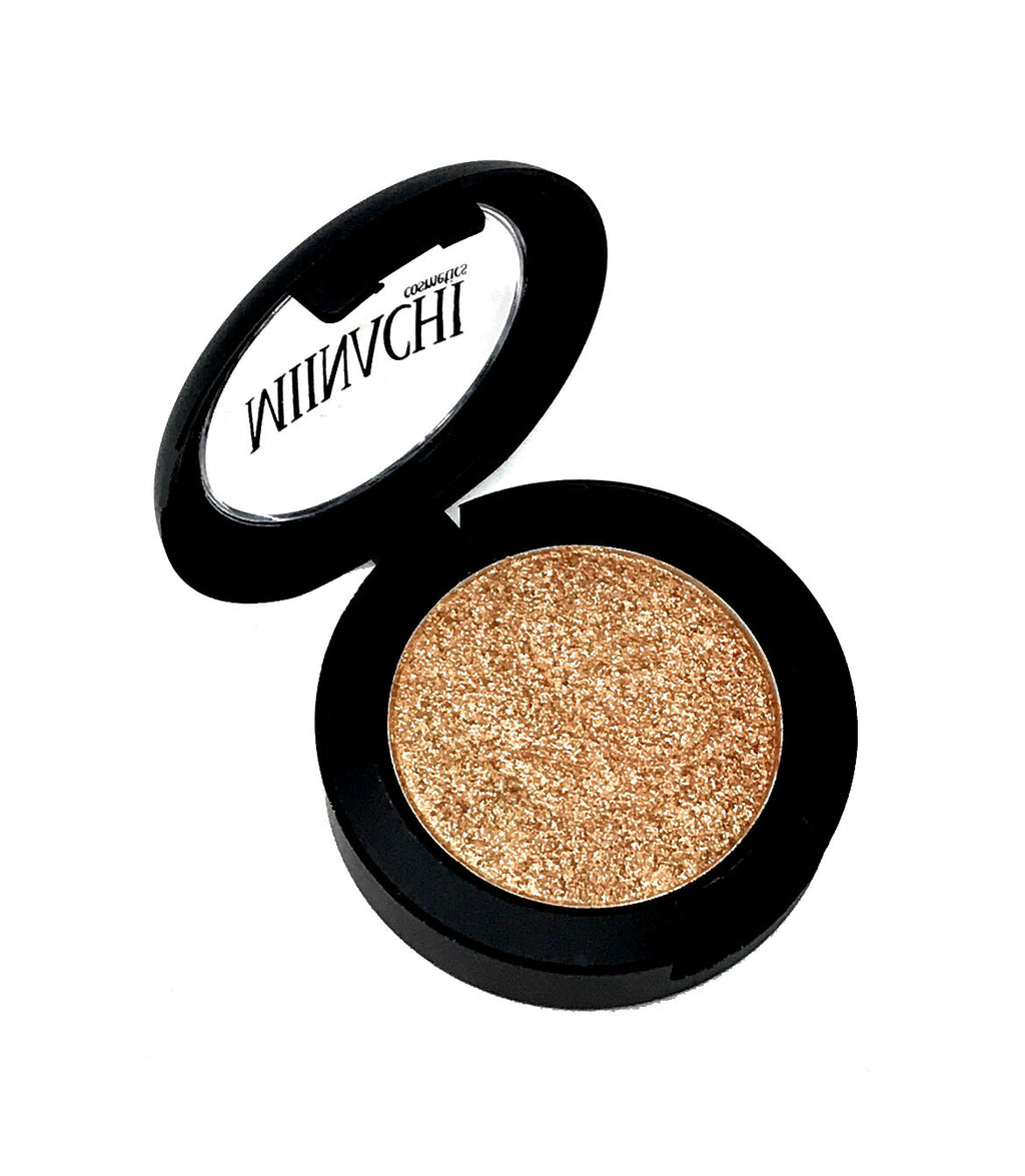 Single Pressed Highlighter In The Shade Halo Glowing Makeup Cosmetics Shimmer