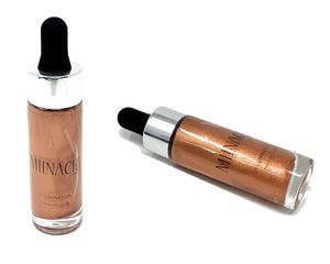 Liquid Illuminator Highlighter Smooth Creamy In The Shade 5 Glow Shine Mixer Cruelty Free Makeup