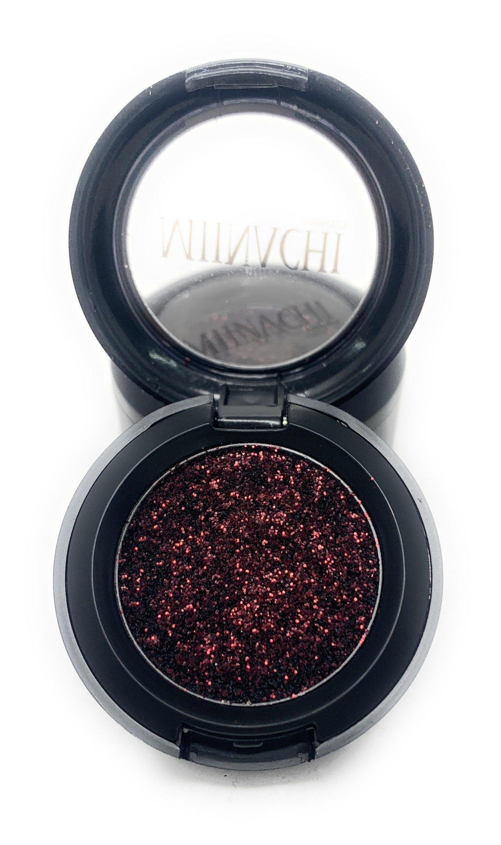 Single Pressed Glitter in the shade Diva, No Glue Needed, In Compact, Pigmented, No Fall Out, Glitter, Cosmetic Grade Glitter