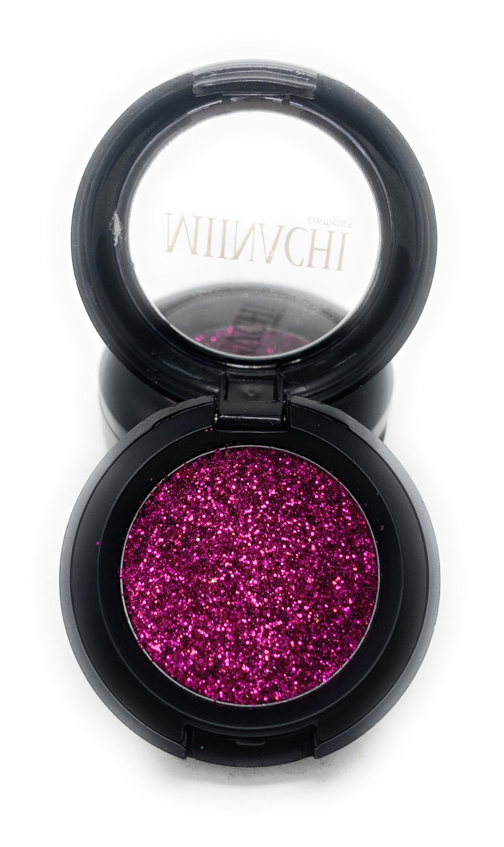 Single Pressed Glitter in the shade Berry, No Glue Needed, In Compact, Pigmented, No Fall Out, Glitter, Cosmetic Grade Glitter