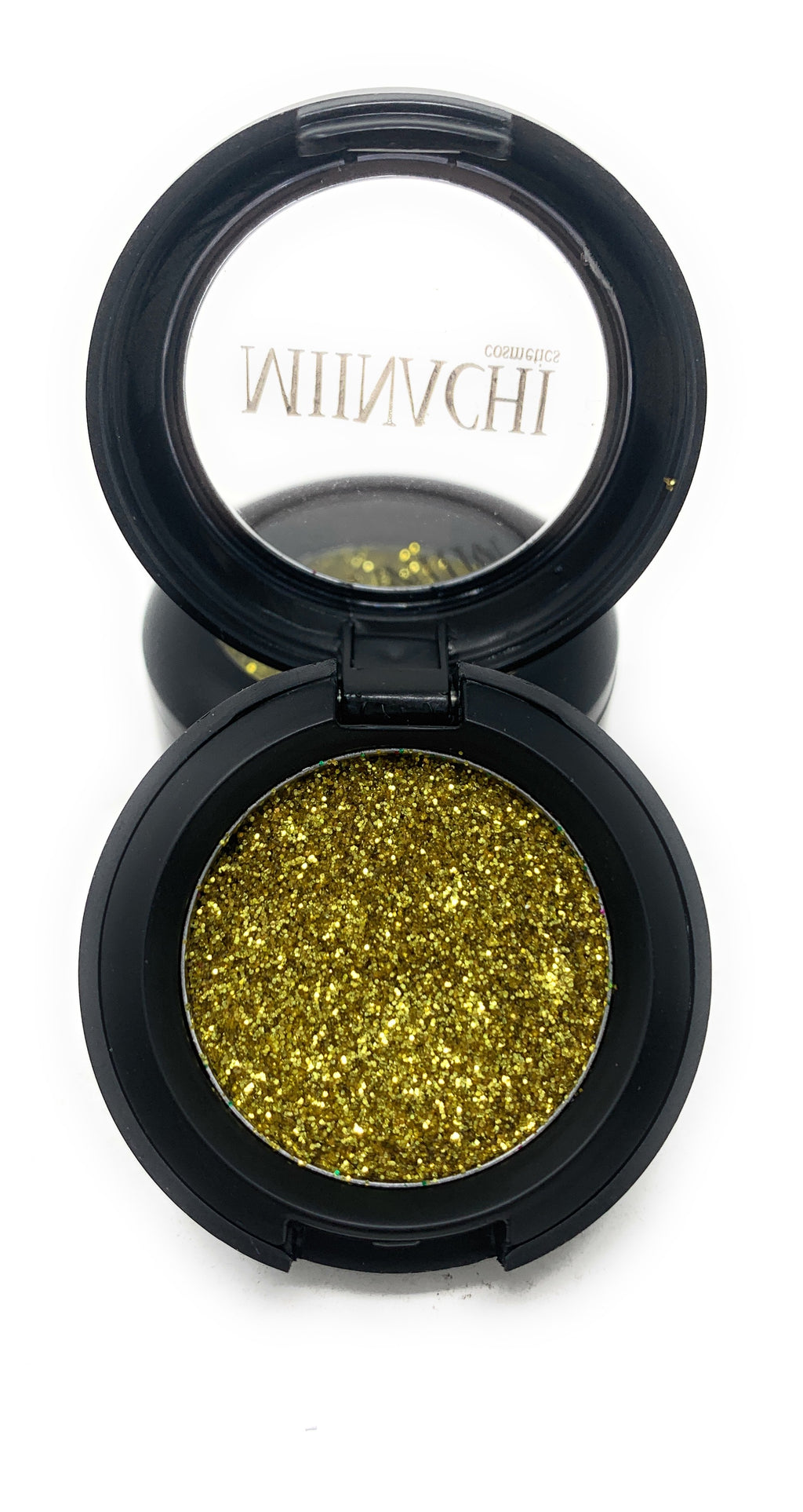 Single Pressed Glitter in the shade Desert Dusk, No Glue Needed, In Compact, Pigmented, No Fall Out, Glitter, Cosmetic Grade Glitter