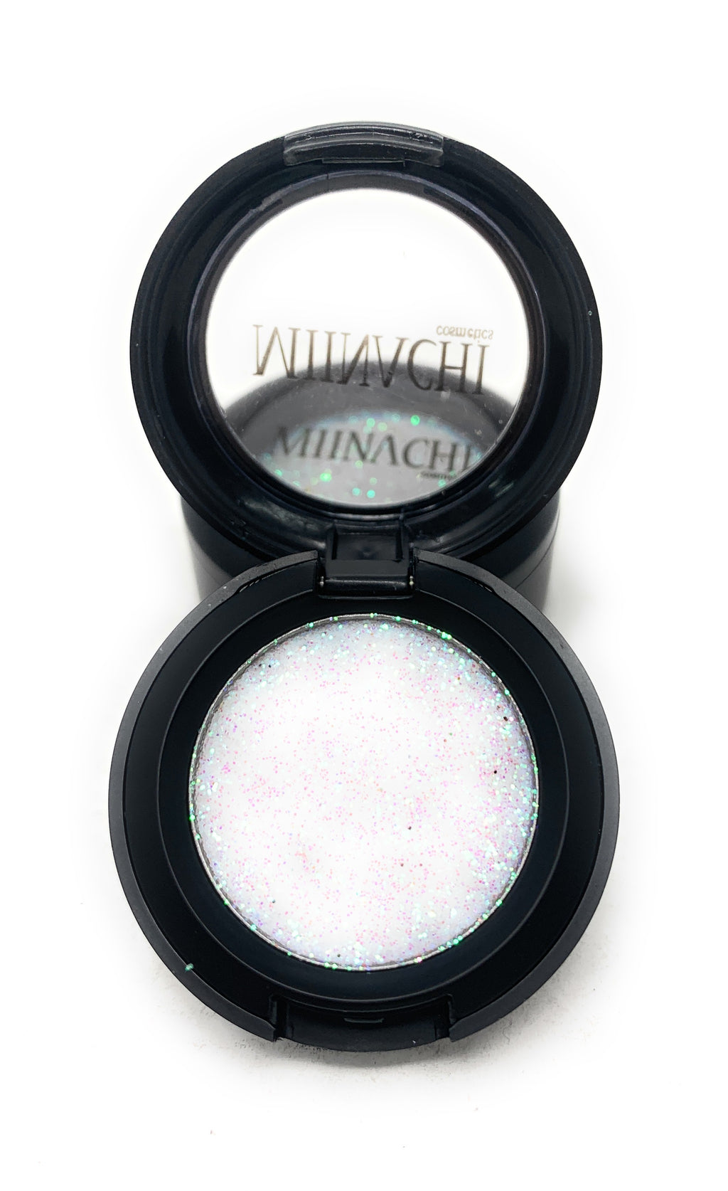 Single Pressed Glitter in the shade Alpha, No Glue Needed, In Compact, Pigmented, No Fall Out, Glitter, Cosmetic Grade Glitter