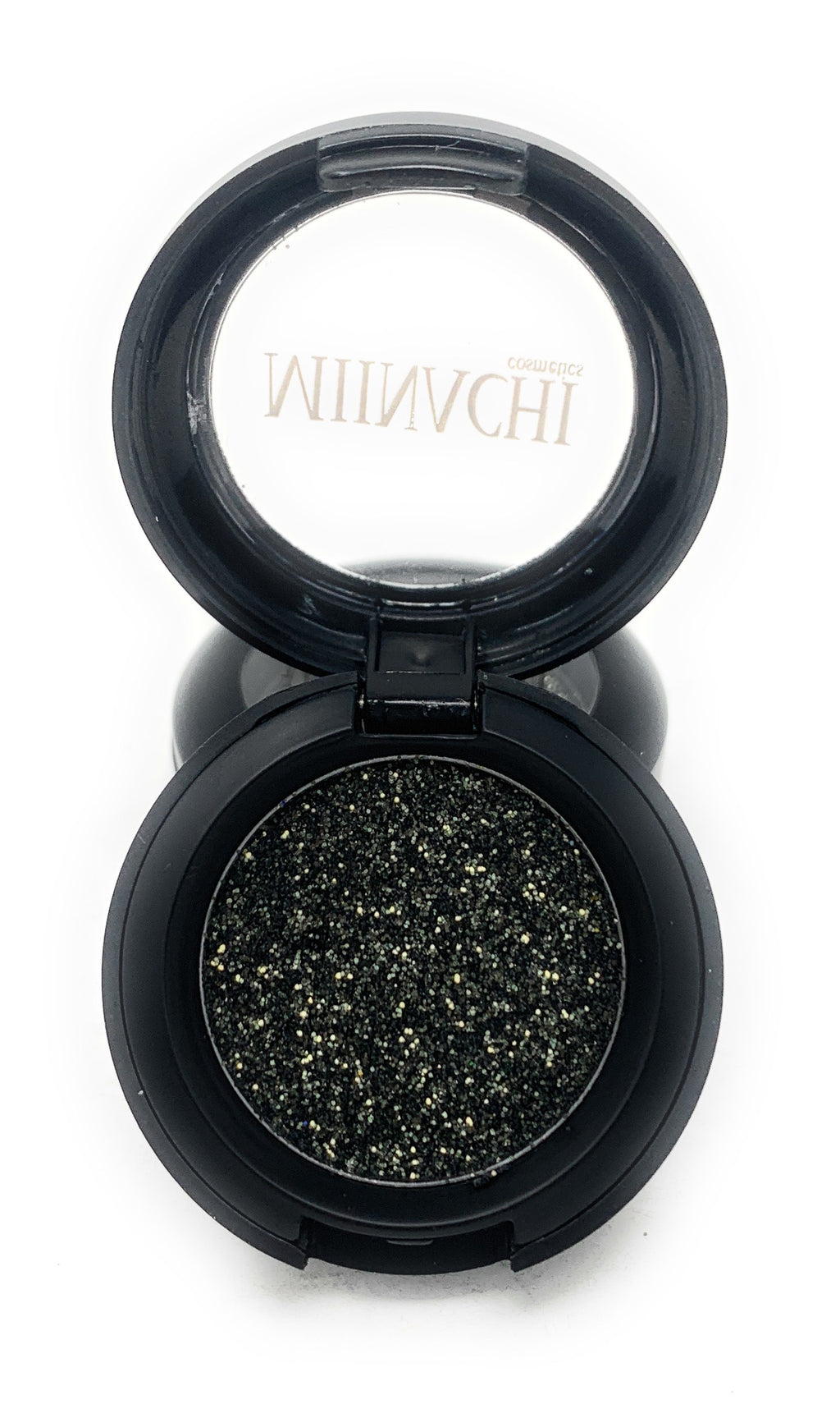 Single Pressed Glitter in the shade Khaki, No Glue Needed, In Compact, Pigmented, No Fall Out, Glitter, Cosmetic Grade Glitter