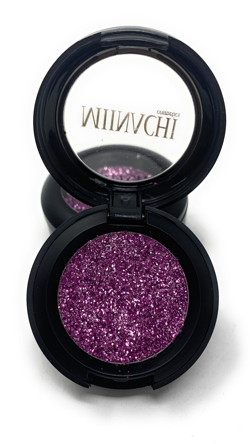 Single Pressed Glitter in the shade Twilight, No Glue Needed, In Compact, Pigmented, No Fall Out, Glitter, Cosmetic Grade Glitter