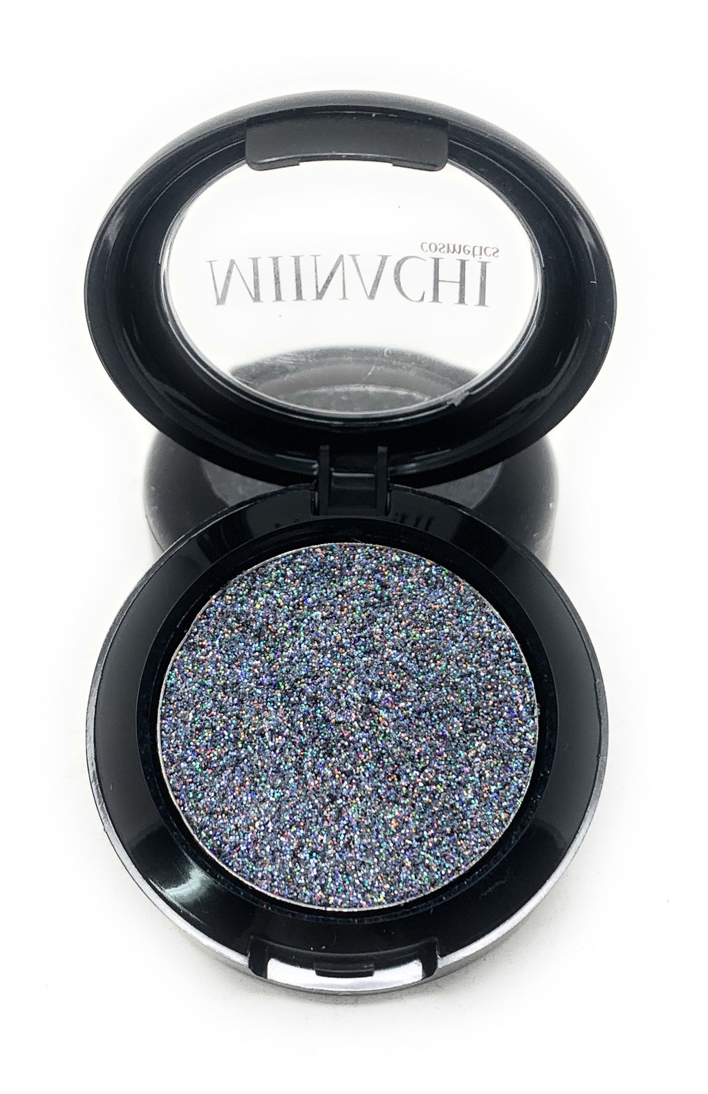 Single Pressed Glitter in the shade Smoke JUMBO Size, No Glue Needed, In Compact, Pigmented, No Fall Out, Glitter, Cosmetic Grade Glitter