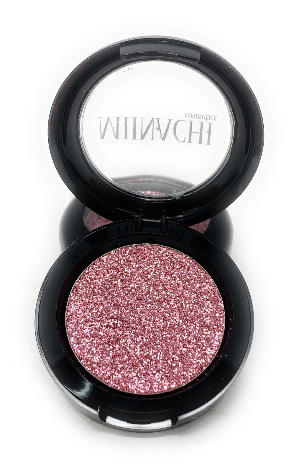 Single Pressed Glitter in the shade Pinky Promise JUMBO Size, No Glue Needed, In Compact, Pigmented, No Fall Out, Glitter, Cosmetic Grade Glitter