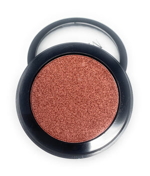 Single Pressed Eyeshadow In the Bear Cub Compact Smooth Pigmented Eyeshadow Brown Colour Foiled