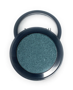 Single Pressed Turquoise  Foiled Eyeshadow In the Shade Sully Compact Smooth Pigmented Eyeshadow Colour
