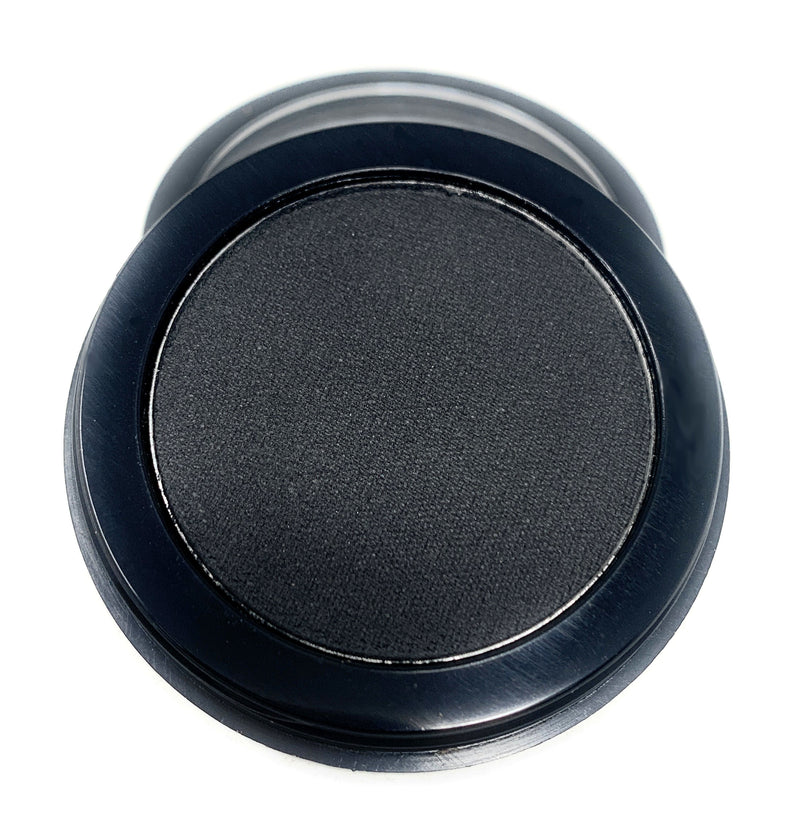 Single Pressed Black Matte Eyeshadow In the Shade Xaviour Compact Smooth Pigmented Eyeshadow Colour