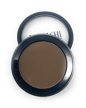 Single Pressed Eyeshadow In the Shade Buttercup Compact Smooth Pigmented Eyeshadow Grey Brown Matte Colour