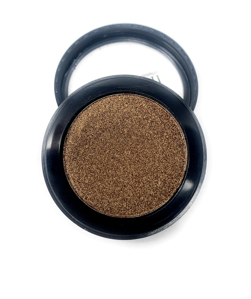 Single Pressed Eyeshadow In the Shade Foil Compact Smooth Pigmented Eyeshadow Bronze Foiled Colour