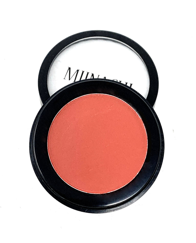 Single Pressed Orange Red Matte Eyeshadow In the Shade Sebastian Compact Smooth Pigmented Eyeshadow Colour