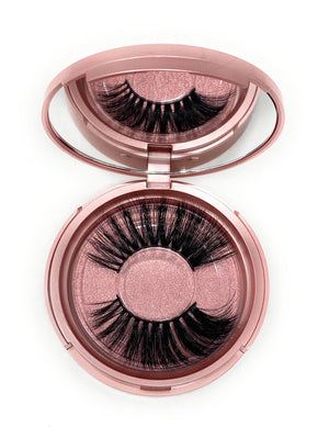 3D Lash in the style Fluttershy, Fluffy, Reusable, Flexible, Lightweight Lashes with Mirror