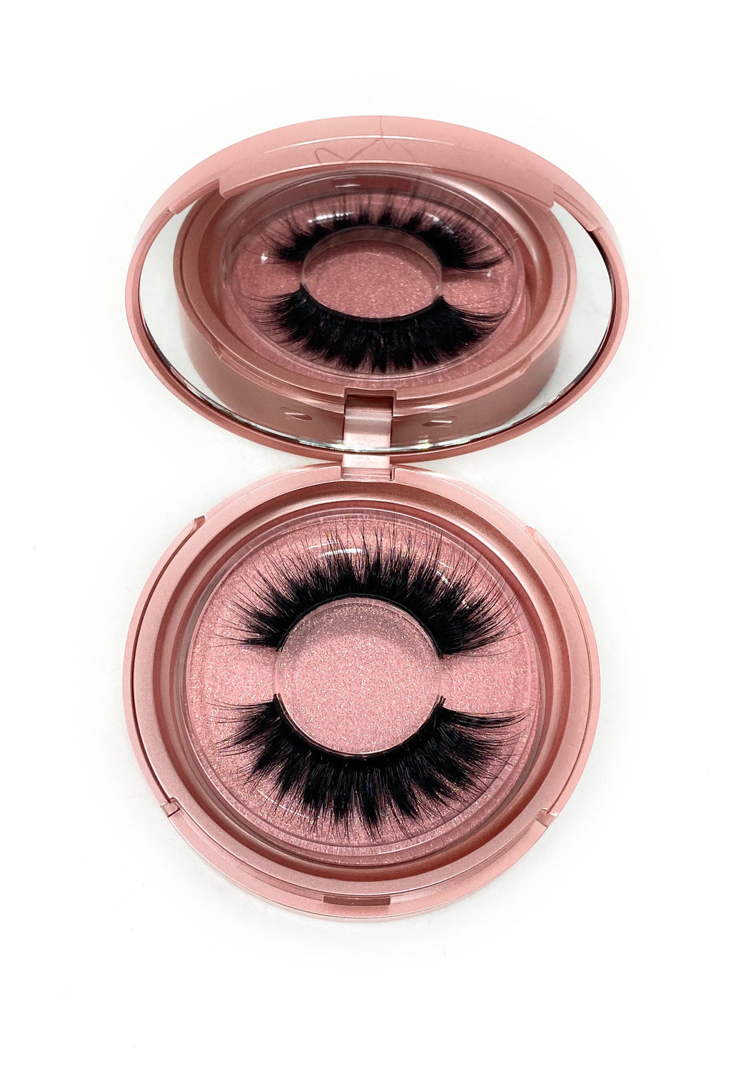 3D Lash in the style Spoilt, Fluffy, Reusable, Flexible, Lightweight Lashes with Mirror