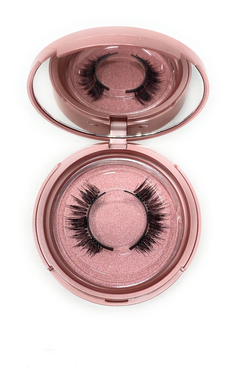 Magnetic Lash in the style Sparkle, Fluffy, Reusable, Flexible, Lightweight Lashes with Mirror