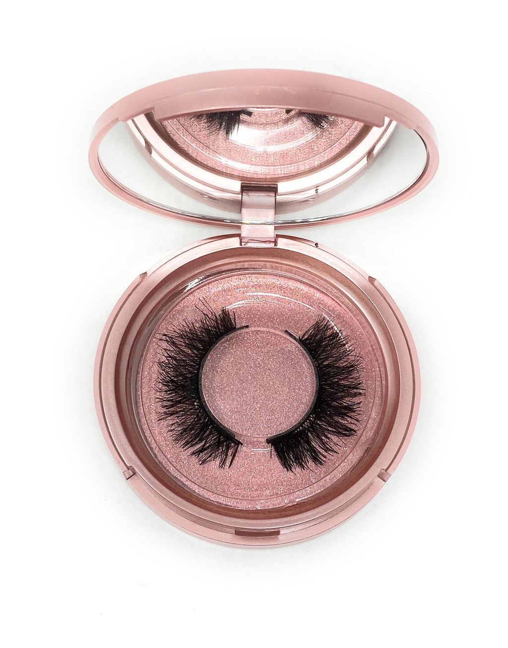 Magnetic Lash in the style Cutie Pie, Fluffy, Reusable, Flexible, Lightweight Lashes with Mirror