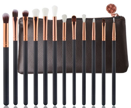 Miinachi All Black Everything Brush Set