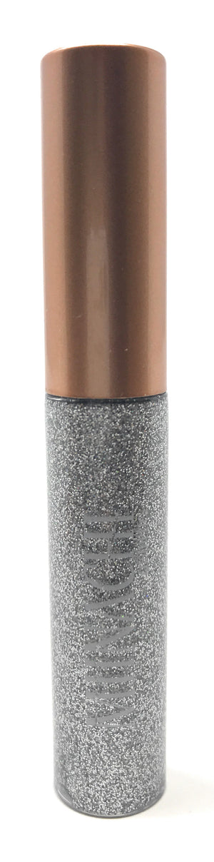 Liquid Eye Liner in the Shade Silver Cosmetic Grade Glitter Smudge Proof Water Proof No Glue Needed