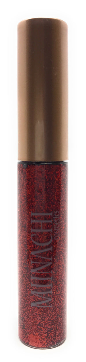 Liquid Eye Red Liner in the Shade Valentine Cosmetic Grade Glitter Smudge Proof Water Proof No Glue Needed