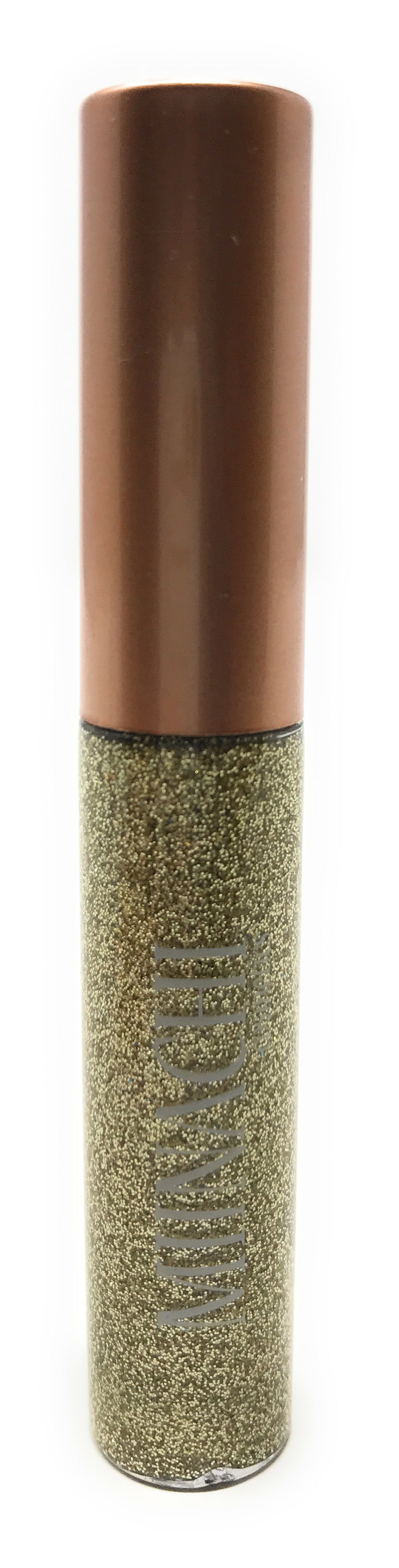 Light Gold Liquid Eye Liner in the Shade Champagne Cosmetic Grade Glitter Smudge Proof Water Proof No Glue Needed