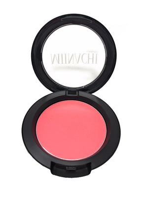 Single Pressed Blush In The Shade Candi Creamy Pink Light to Medium Blusher